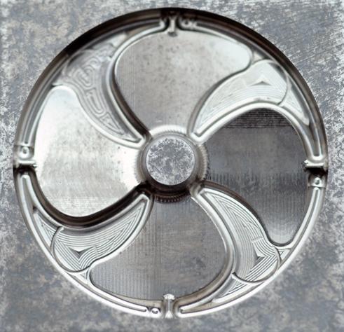超硬材切削加工品サンプル