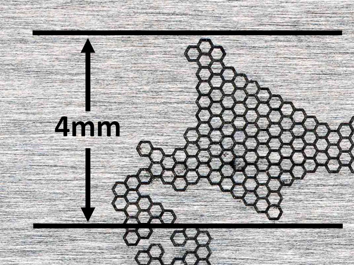 対辺0.3の六角形で日本列島