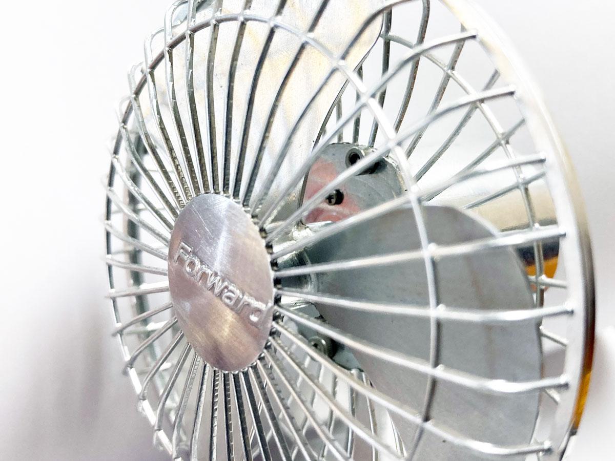オール切削の扇風機